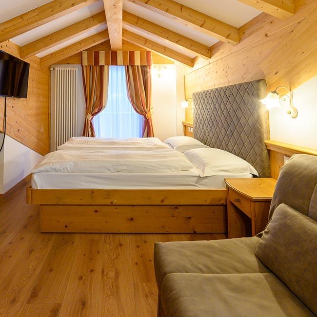 Suite Dependance Albergo Con Spa Trentino Hotel Crozzon